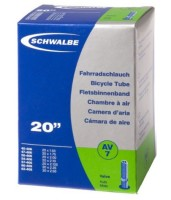 """Камера 20"""" (40/62x406) Schwalbe AV7 40мм EK AGV"""