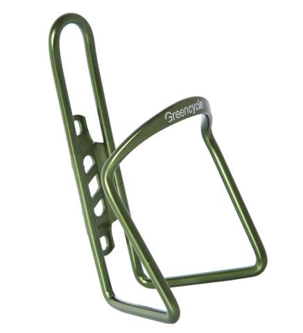 Флягодержатель Green Cycle GCC-BC22 алюмииневый 500-750ml зеленый