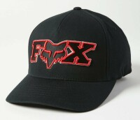 Кепка FOX ELLIPSOID FLEXFIT HAT [Black/Red], S/M