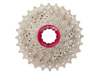 Кассета инд. 10-k 11-25T SUN RACE RX алюминевый паук, локринг и спейсеры ,Metallic Silver