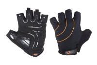 Перчатки Green Cycle Nimble без пальцев черно-оранжевые