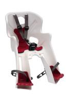 Сиденье пер. Bellelli Rabbit B-fix до 15кг белое с красной подкладкой