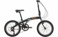 "Велосипед 20"" Pride MINI 6 2021 зеленый"