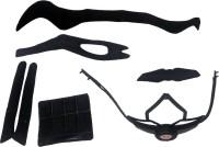 Сменный комплект оборудования на шлем Green Cycle Enduro черно-серый