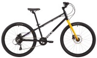 "Велосипед 24"" Pride GLIDER 4.2 2021 черный (тормоза RADIUS)"