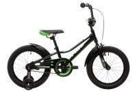 """Велосипед 16"""" Pride Flash черный/зеленый/белый 2018"""