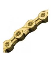 Цепь инд. 116 зв. 1/2x11/128 KMC X9 gold