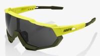 Велосипедные очки Ride 100% SPEEDTRAP - Soft Tact Banana - Black Mirror Lens, Mirror Lens