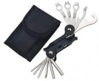 Ключ ICE TOOLZ 91A2 складной 17 инструментов Pocket