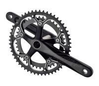 Комплект шатунов PROWHEEL ATIA-521-TT 172,5mm, 52/42T black