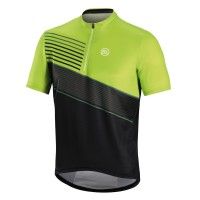 Джерси Bicycle Line DIRUPO кор. рукав, черно-зеленое