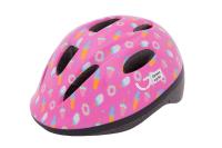 Шлем детский Green Cycle Sweet малиновый/розовый лак
