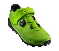 Обувь Mavic XA PRO Lime Green/Pirate Black салатово-черная