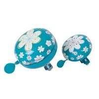Звонок Kiddi Moto цветы, голубой, большой