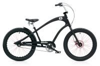 "Велосипед 24"" Electra Straight 8 3i (Alloy) disc satin Black"