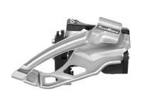 Переключатель пер. SUN RACE MS66 10S, Double, диаметр 34.9 с адаптером 31.8 и 28.6, Dual Pull