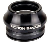 Рулевая колонка Fiction SAVAGE HEADSET, 45X45°, 15mm HEIGHT, ALLOY, черный