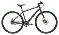 "Велосипед 28"" Apollo TRACE 45 matte charcoal/matte black/matte neon green"