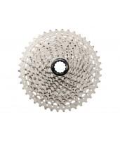 Кассета инд. 10-k 11-40T SUN RACE MTB MS2 алюминиевый паук, Metallic Silver