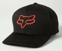 Кепка FOX LITHOTYPE FLEXFIT 2.0 HAT [Black/Orange], L/XL