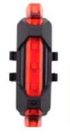Мигалка задняя Green Cycle GTL-022 50 люм. 6 режимов