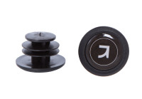 Заглушка руля Green Cycle GC-09 нейлон диаметр 20,5 мм черная