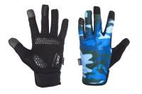 Перчатки Green Cycle Rocker с закрытыми пальцами коричневый камуфляж
