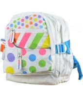 Рюкзак детский KiddiMoto цветной горошек, маленький, 2 - 5 лет