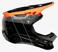 Вело шлем Ride 100% AIRCRAFT CARBON Helmet MIPS [Darkblast], L