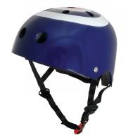 Шлем детский Kiddimoto синяя мишень