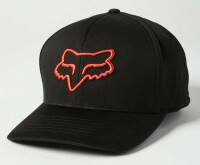 Кепка FOX LITHOTYPE FLEXFIT 2.0 HAT [Black/Orange], S/M