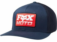 Кепка FOX CHARGER FLEXFIT HAT [MIDNIGHT], S/M
