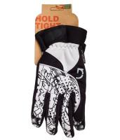 Перчатки Green Cycle NC-2409-2014 Winter с закрытыми пальцами черно-белые