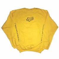 Кофта FOX Forever Fox Head Crew Fleece [Yellow], XL