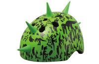 Шлем детский Green Cycle DINOSAUR зеленый