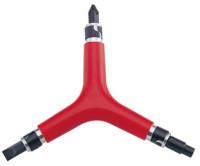 Ключ ICE TOOLZ 74B1 шестигранник 4/6mm Y-вид д/роликов