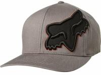 Кепка FOX EPICYCLE FLEXFIT HAT [Grey/Orange], S/M