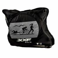 """Чехол для велосипеда 28"""" XXF TT BIKE CARRY BAG, полужёсткий, черно-серый"""