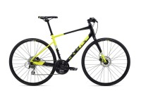 "Велосипед 28"" Marin FAIRFAX 2 2020 Satin Black/Gloss Hi-Vis Yellow/ Silver"