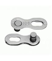 Звено цепи KMC CL566R-NP для цепей X9, Z9200, Shimano/Sram 9 ск 2шт