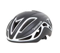 Шлем Green Cycle Jet черно-белый матовый