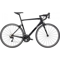 "Велосипед 28"" Cannondale SUPERSIX Carbon 105 2020 BBQ, чёрный"
