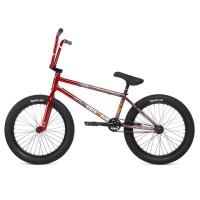 "Велосипед 20"" Stolen SINNER FC LHD 2020 ROAD KILL (RED SPLATTER FADE), красный"