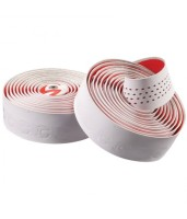 Обмотка руля Cannondale Microfiber Plus white-red