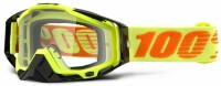 Мото очки 100% RACECRAFT Goggle Attack Yellow - Clear Lens, Clear Lens