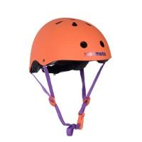 Шлем детский Kiddimoto оранжевый матовый