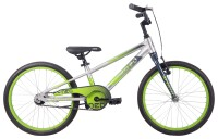 """Велосипед 20"""" Apollo NEO boys Brushed Alloy / Slate / Lime Green Fade"""
