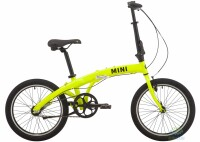 "Велосипед 20"" Pride MINI 3 2021 желтый"