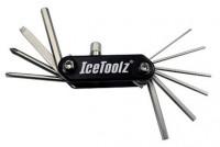 Ключ ICE TOOLZ 95A5 складной 11 инструментов Compact-11