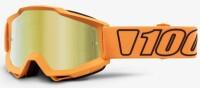 Мото очки 100% ACCURI Goggle Luminari - Mirror Gold Lens, Mirror Lens